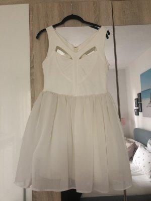 Kleid weiß wie neu