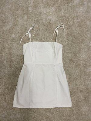 Kleid Weiß Zara