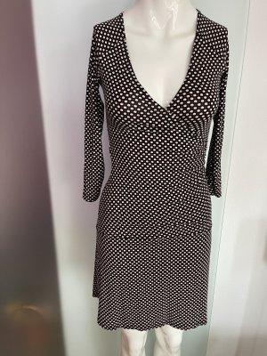 Kleid Wickel Look Von Motive Gr 34 36 S gepunktet