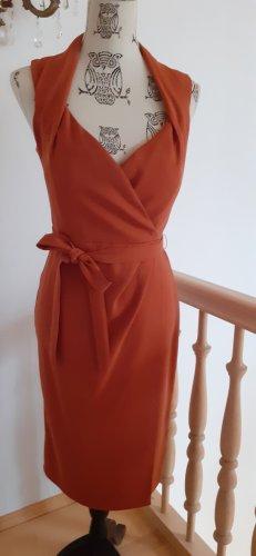 Asos Kopertowa sukienka rudy