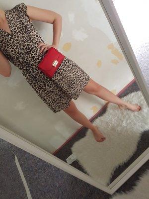 Kleid Winterkleid Sommerkleid Leoprint Neu!