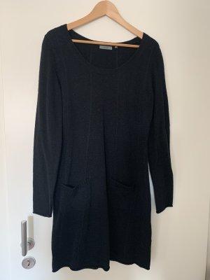 Kleid Wolle schwarz Grösse M