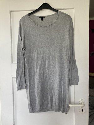 Kleid wollkleid h&m grau 36 38 Strickkleid wolle