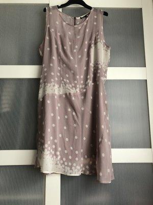Kleid XL lila creme