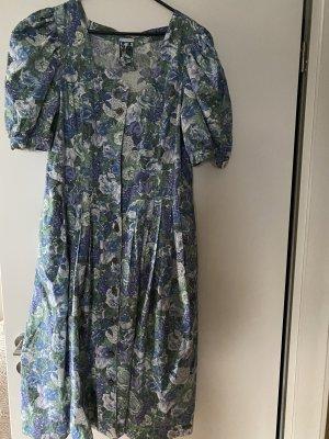 Kleid XL lila grün