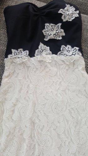 Kleid xs mit V Ausschnitt  Spitzenkleid