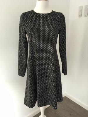 Kleid xs schwarz/weiß