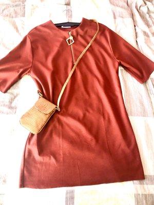 Zara Sheath Dress bordeaux