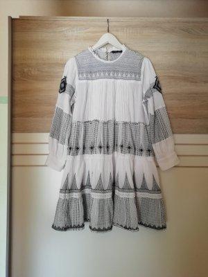 Zara Longsleeve Dress white-light grey