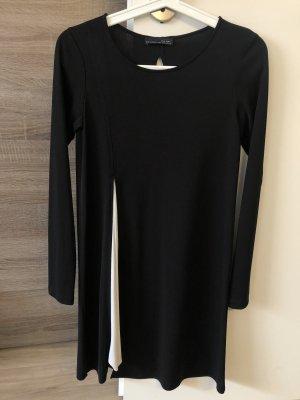 Zara Sukienka z długim rękawem czarny