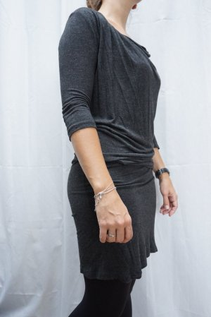 Zara Sukienka dresowa szary