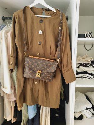 Kleid Zara Khaki Oliv Größe 38