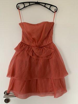 Kleid Zara lachsfarben Größe S