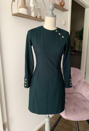Kleid Zara millitary S grün