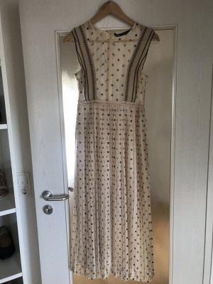 Kleid Zara nude