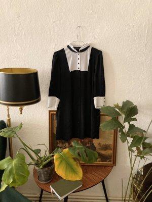 Kleid zara schwarz weiß