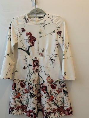 Kleid - Zara weiss