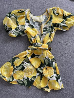 Kleid Zitrone