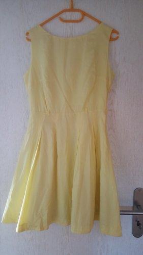 Kleid, zitronengelb