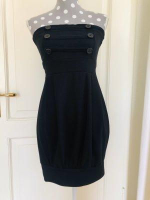 Melrose and Market Sukienka z rękawem balonowym czarny Bawełna