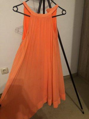 8 Cocktail Dress orange polyester
