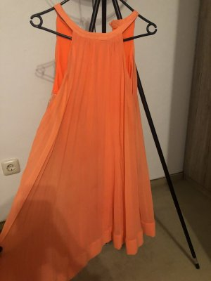 8 Cocktail Dress orange polyester
