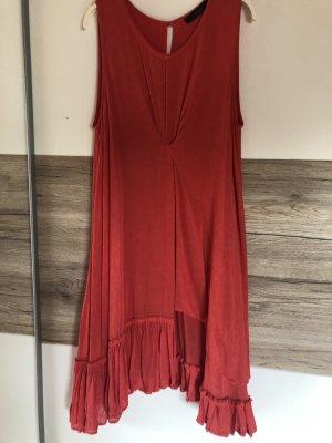 Twin set Letnia sukienka czerwony
