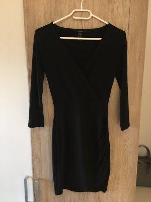 Forever 21 Kopertowa sukienka czarny