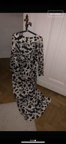 Asos Maxi-jurk zwart-wit