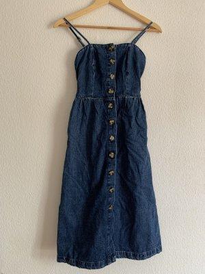 BDG Denim Dress dark blue
