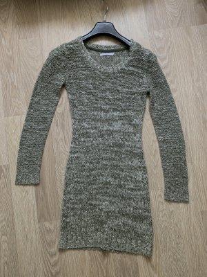Kleider | Grün/Weiß | Strick | Größe S | Only