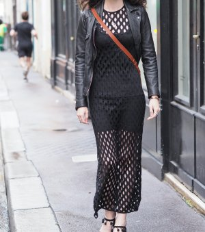 Kleider-Sonntag: Fischnetz-Kleid, Netz-Kleid, Cut Out Dress, Designerkleid, H&M Divided, 32, Schwarz, Designer-Stück, ungetragen, nagelneu