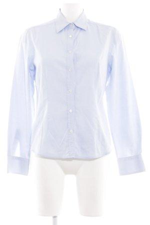 Kleidermanufaktur Habsburg Langarmhemd blau Business-Look