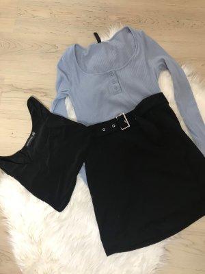 H&M Traje de negocios negro-azul celeste
