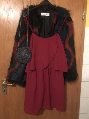 *Kleiderschrankausverkauf* Dunkelrotes Sommerkleid von Mango, Größe M