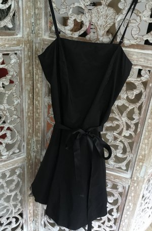 Mötivi Vestido bustier negro acetato