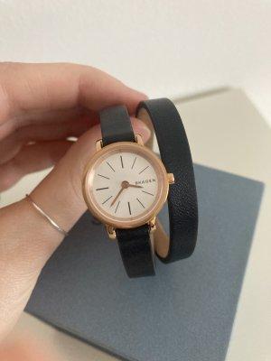 Kleine Armbanduhr Skagen