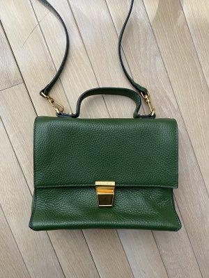 Kleine Coccinelle Tasche Cross Body grün