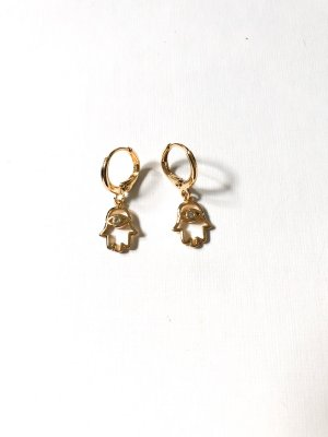 Ear Hoops gold-colored-silver-colored