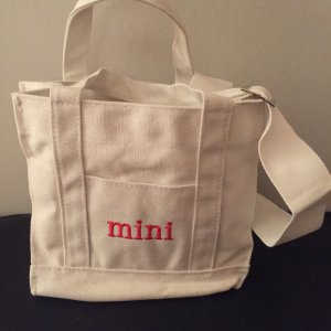 Kleine Crossbody 'Mini' Canvas Bag * NEU