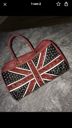 Mini sac rouge-noir