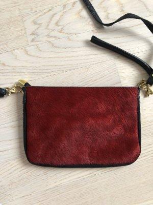Borsetta mini nero-rosso