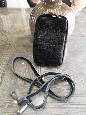 Made in Italy Pokrowiec na telefon komórkowy czarny