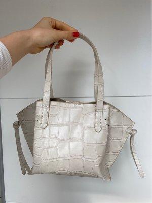 Kleine Kunstkrokodil Tasche