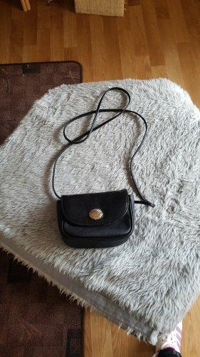 Kleine Leder umhänge Tasche