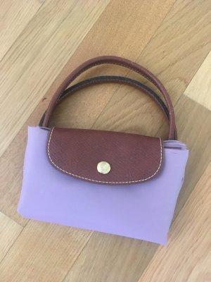 Kleine Longchamp Tasche mit kurzem Henkel