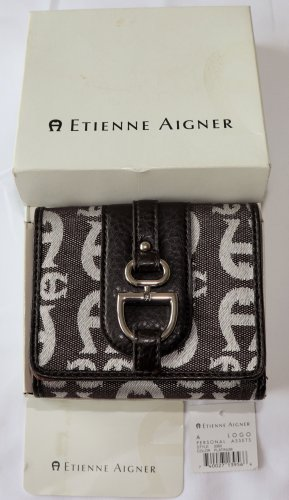 Etienne Aigner Wallet white-black