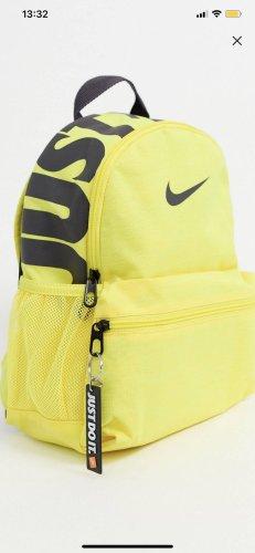 Nike Sac à dos collège jaune-noir