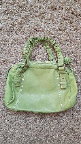 Kleine Pistazienfarbene Tasche