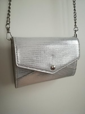 C&A Mini sac blanc-argenté